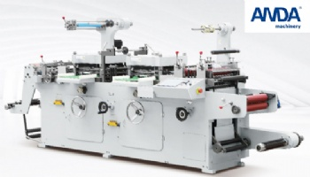 Double-Station Label Die Cutting Machine Model TMQ320D