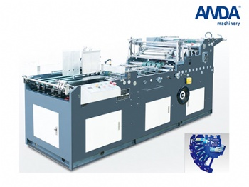 Fully automatic paper box window patching machine BW-3406501080